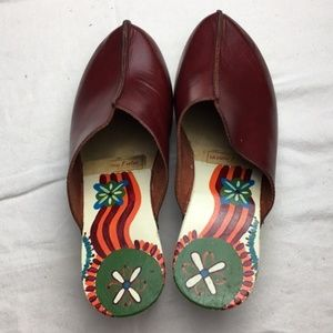 Savory Soles |  Italian Clogs | Hand-Painted |